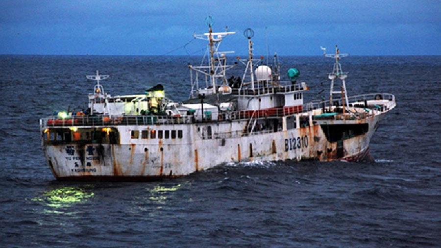 Denuncia ante la UE a las flotas chinas por violación de los derechos humanos